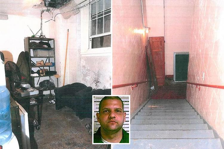 Inside caretaker's secret rape dungeon where he lured and attacked schoolgirl, 12, up to 40 times on school grounds in three-month reign of terror