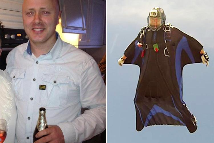 Hero skydiving coach died after saving pupil's life in mid-air while teenage son worked nearby
