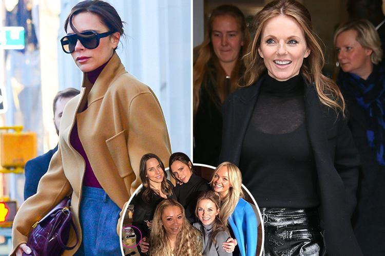 Victoria Beckham and Geri Horner in 'battle for control of Spice Girls' as negotiations start for reunion tour