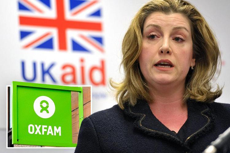 Foreign aid boss Penny Mordaunt puts Oxfam funding on hold in the wake of the unfolding sex scandal
