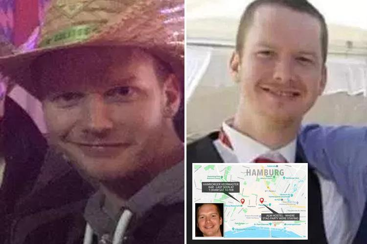 Pals of missing best man Liam Colgan who vanished on German stag do say there have been sightings of 'confused Scottish man'