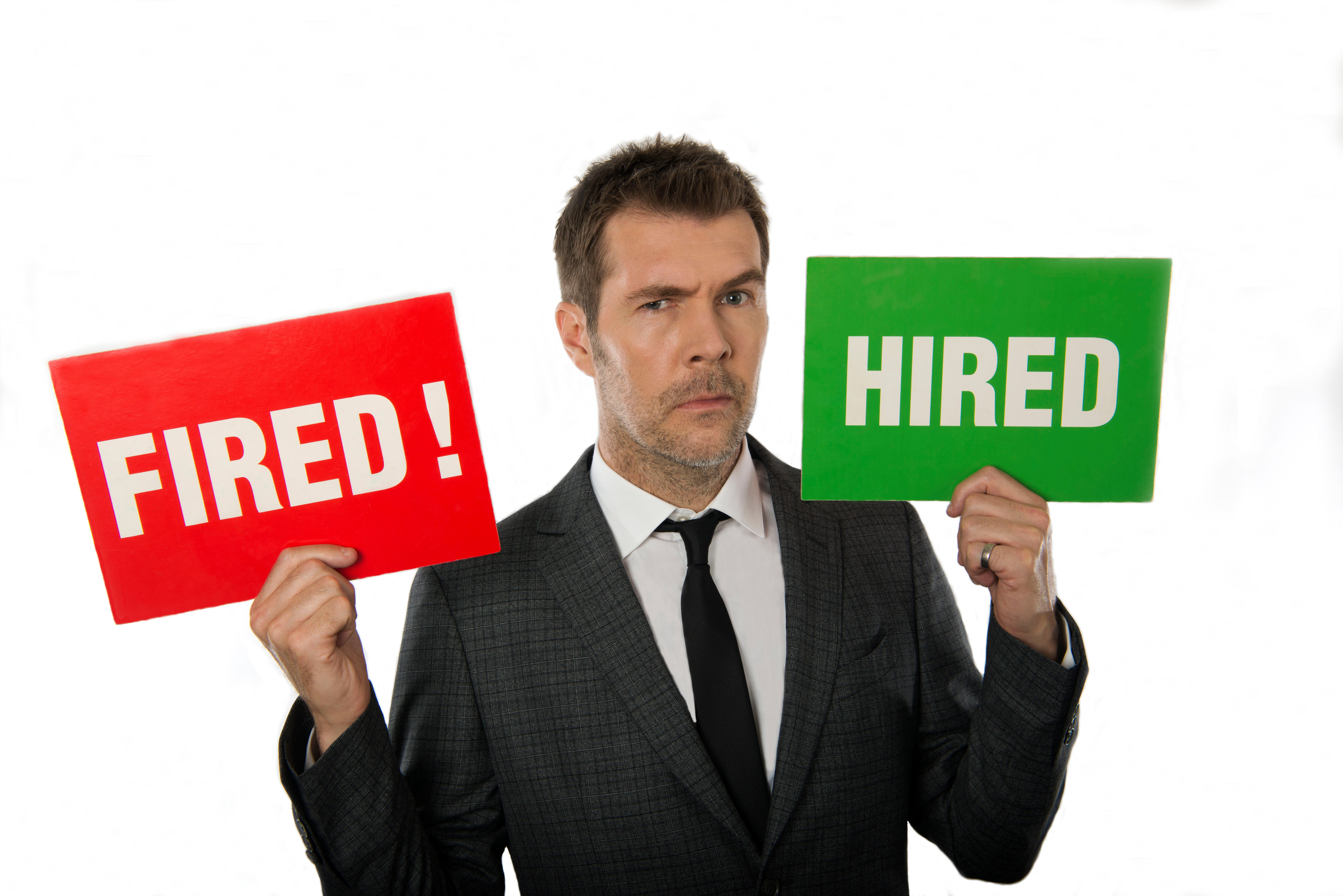 Who is Rhod Gilbert? Who's The Apprentice: You're Fired host's wife and why has he got a potato tattoo?