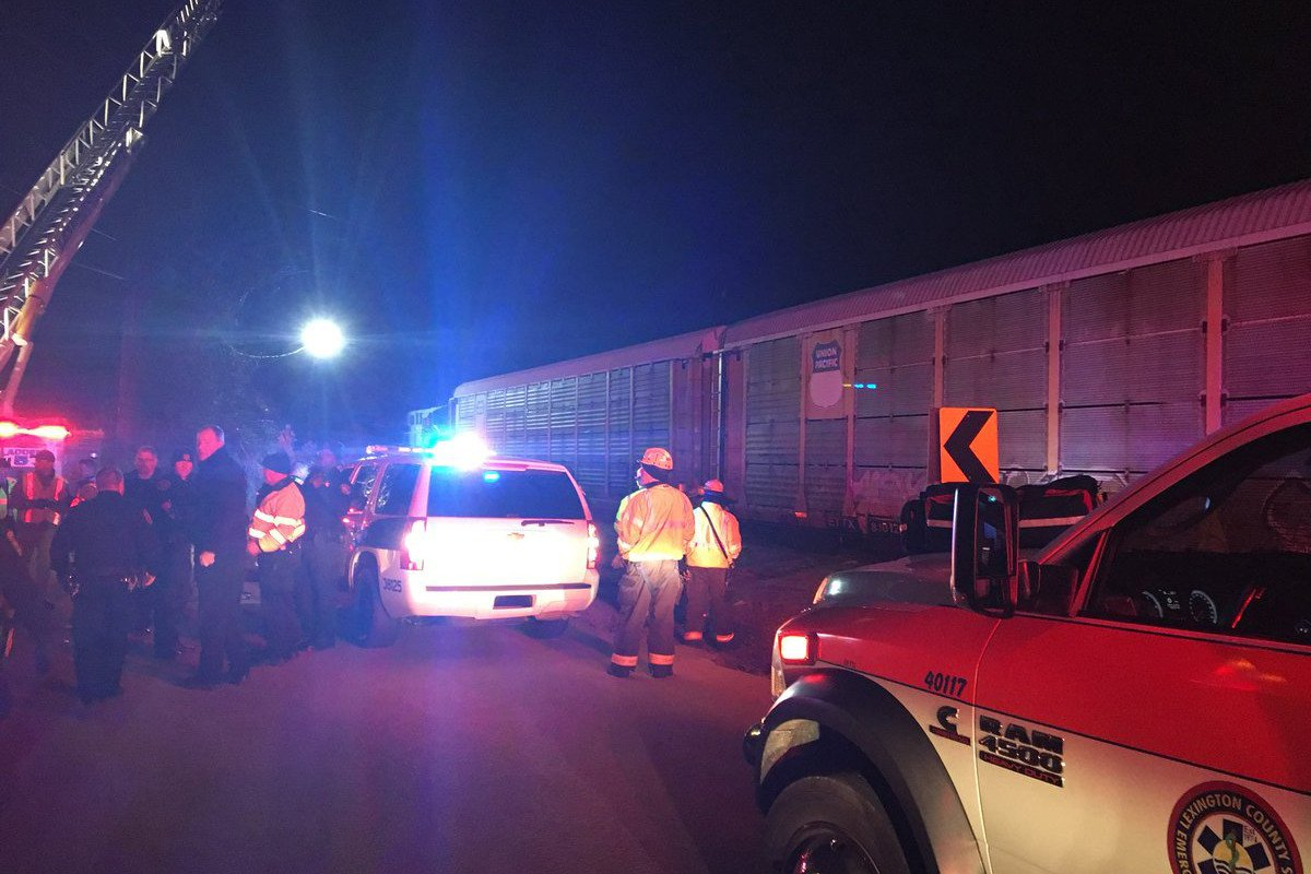 Amtrak train derails in deadly collision with freight train