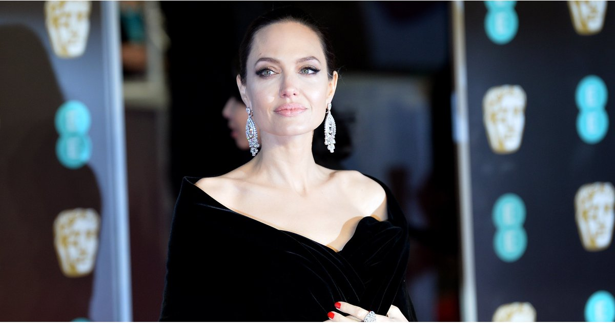 Angelina Jolie's Dress Looked Like Any Other Black Gown — and Then She Took Her Shawl Off