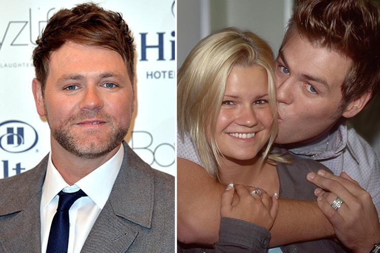 What is Brian McFadden's net worth, when was he married to Vogue Williams and Kerry Katona and why'd he quit Westlife?