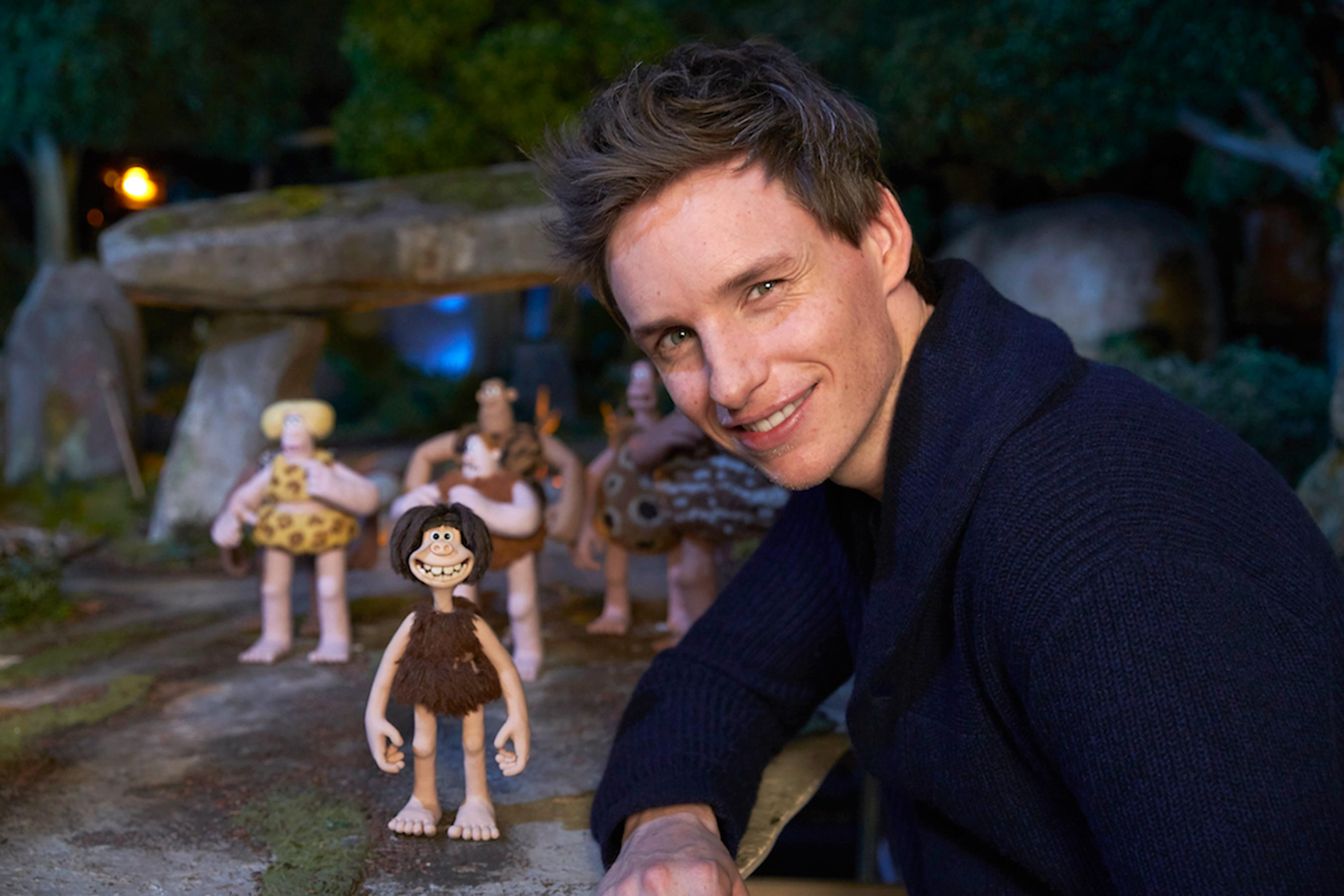 Eddie Redmayne on Early Man, fighting Maisie Williams with a plastic spear