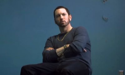 Eminem Teases Drama-Filled Music Video for 'River' Ft. Ed Sheeran