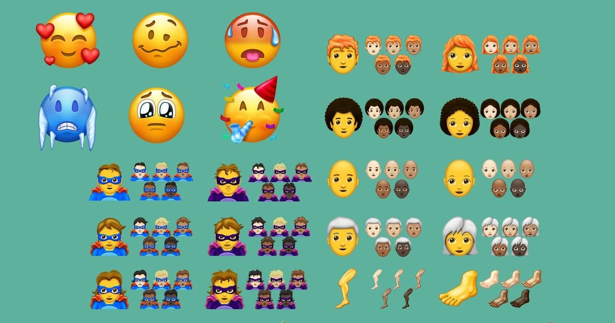 Over 150 new EMOJI will be released later this year