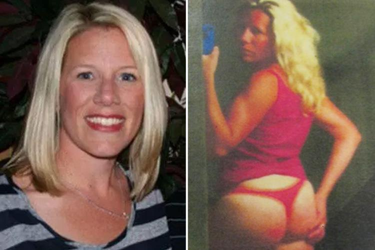 Teacher mum-of-three, 41, romped with pupil after seducing him with saucy pics in her undies