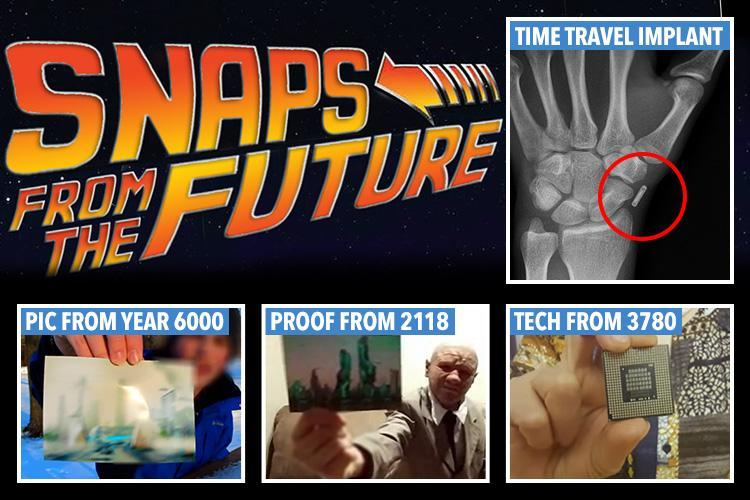 These time travellers say they've been to the future…and here's their 'proof'