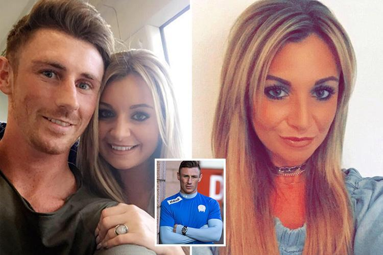 Tragic football star's girlfriend reveals she was on the phone to him when he died in front of a train