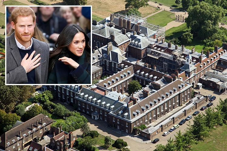 Meghan Markle and Prince Harry 'anthrax terror threat as letter with white powder sent to Kensington Palace'