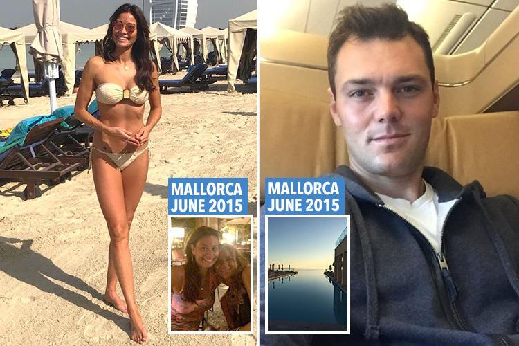 Do these pictures prove Melanie Sykes, 47, is 'secretly dating' German golfer Martin Kaymer, 33