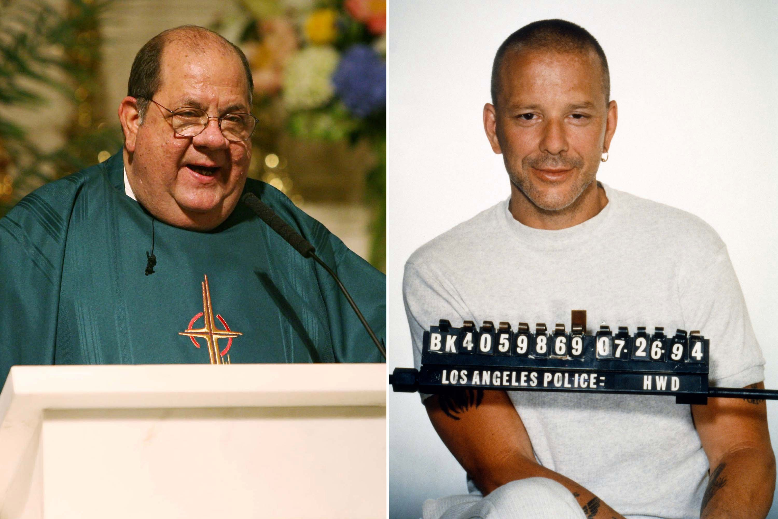 How a beloved NYC priest saved Mickey Rourke's life