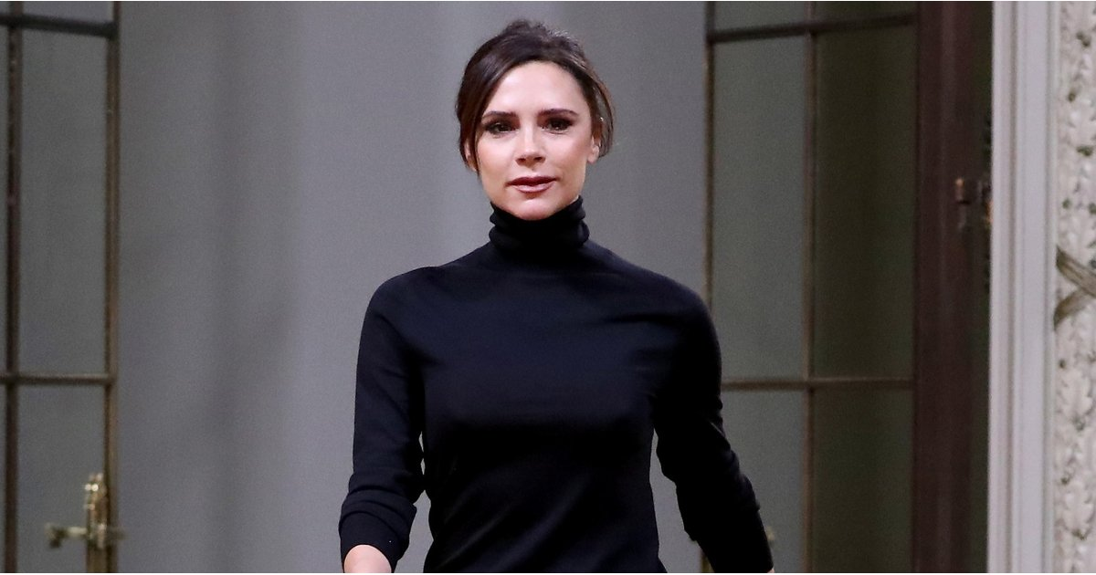 Victoria Beckham Wore a Surprisingly Simple Look to Present Her Fall Collection