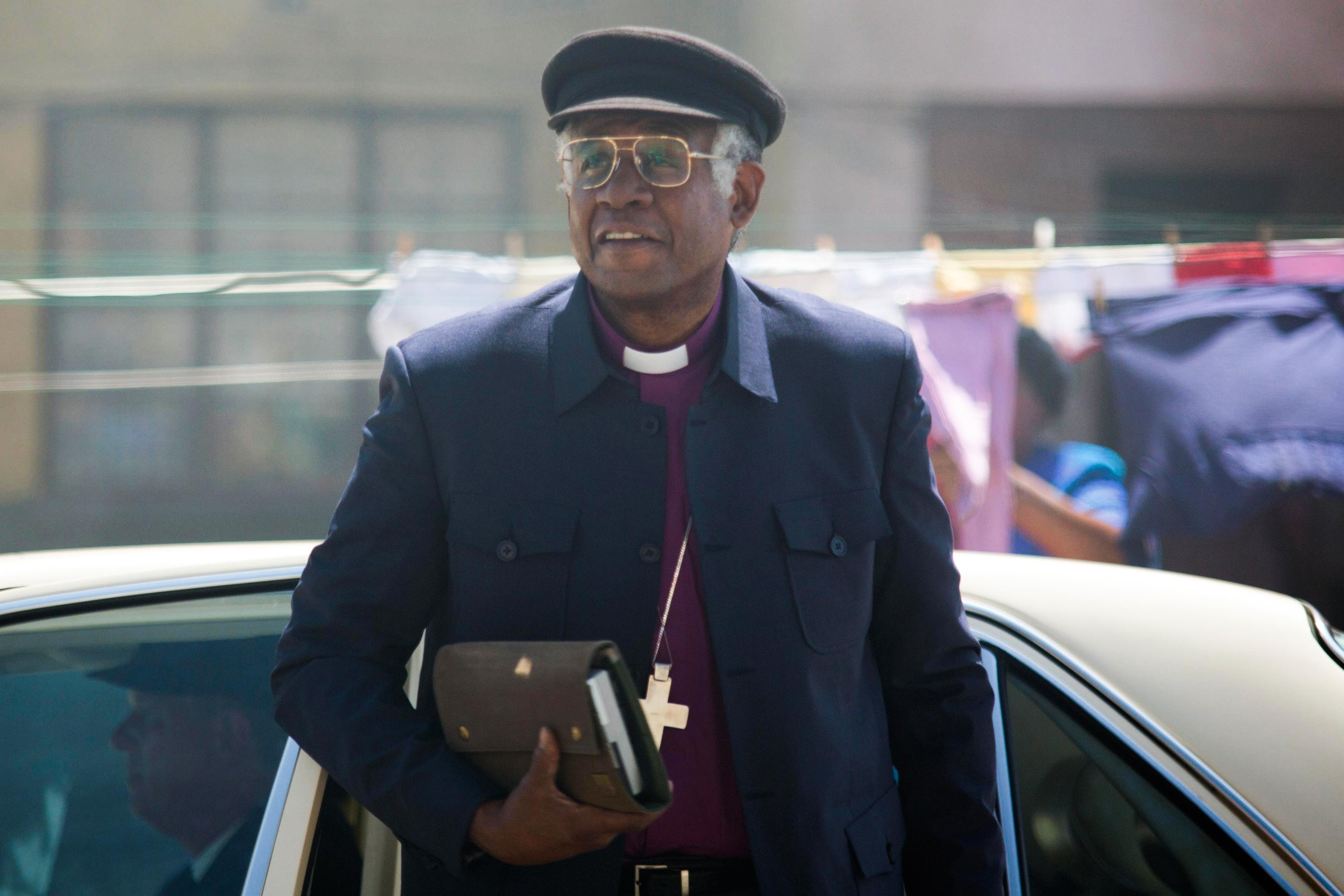 The Forgiven trailer has Forest Whitaker as Desmond Tutu