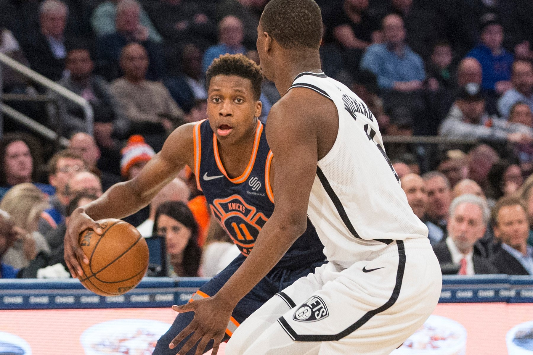Jeff Hornacek sees a future for Frank Ntilikina as Knicks starter