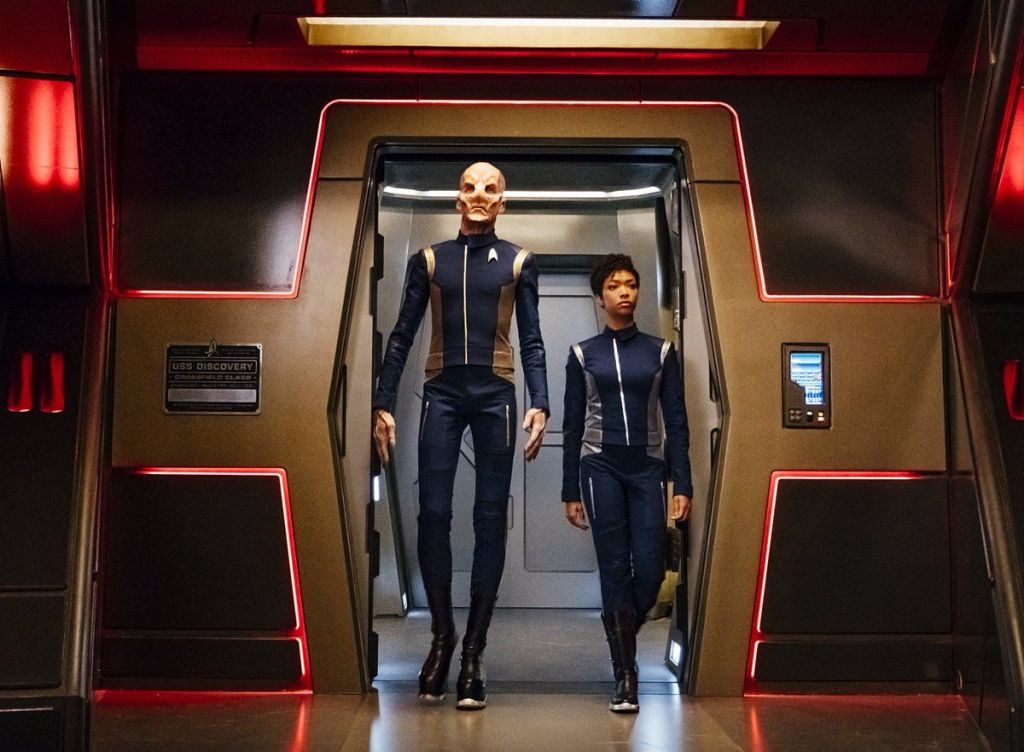 "Star Trek: Discovery's Doug Jones speaks out on ""mixed"" reaction to show's darkness and bad language"