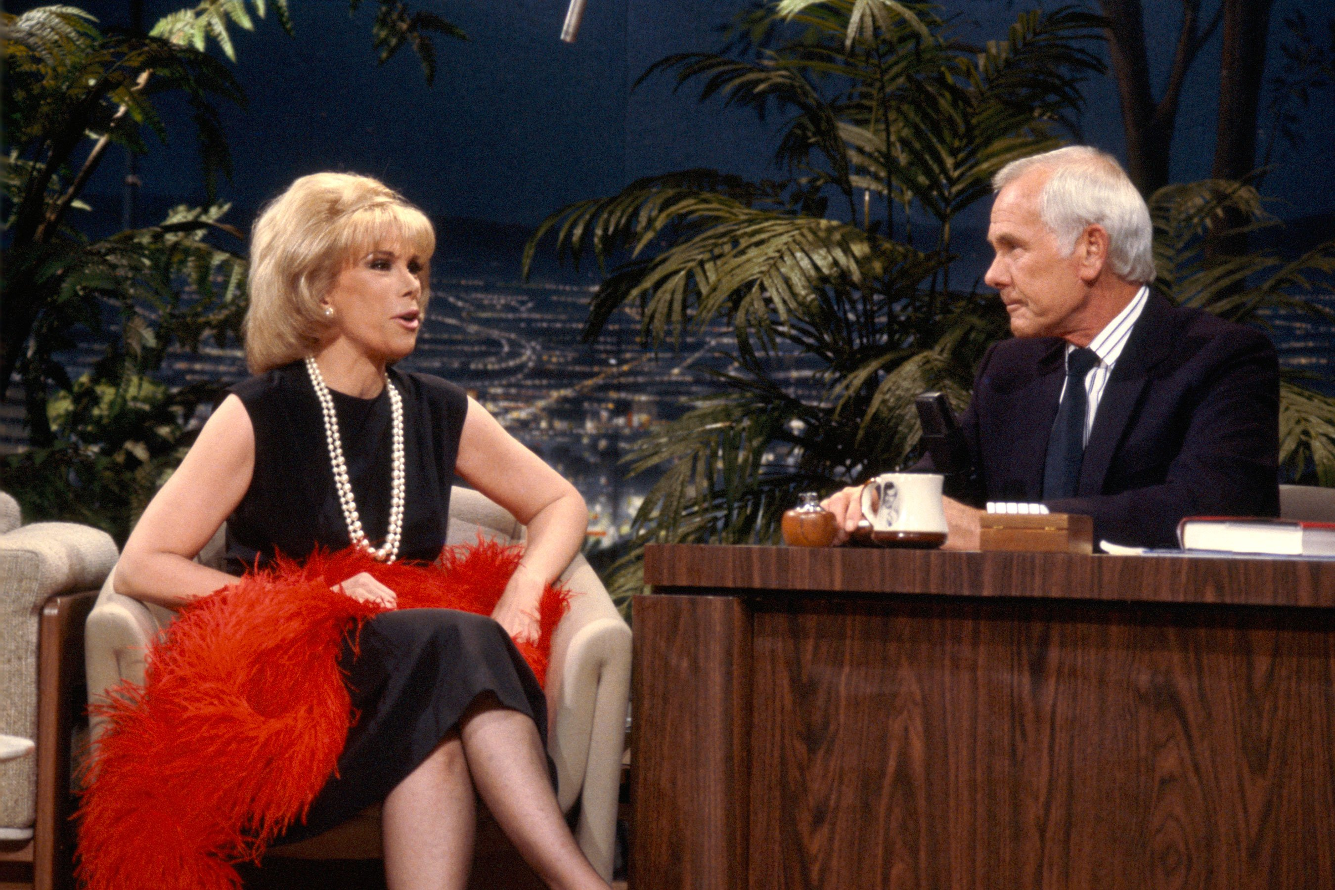 Joan Rivers, Johnny Carson feud addressed in unaired interview