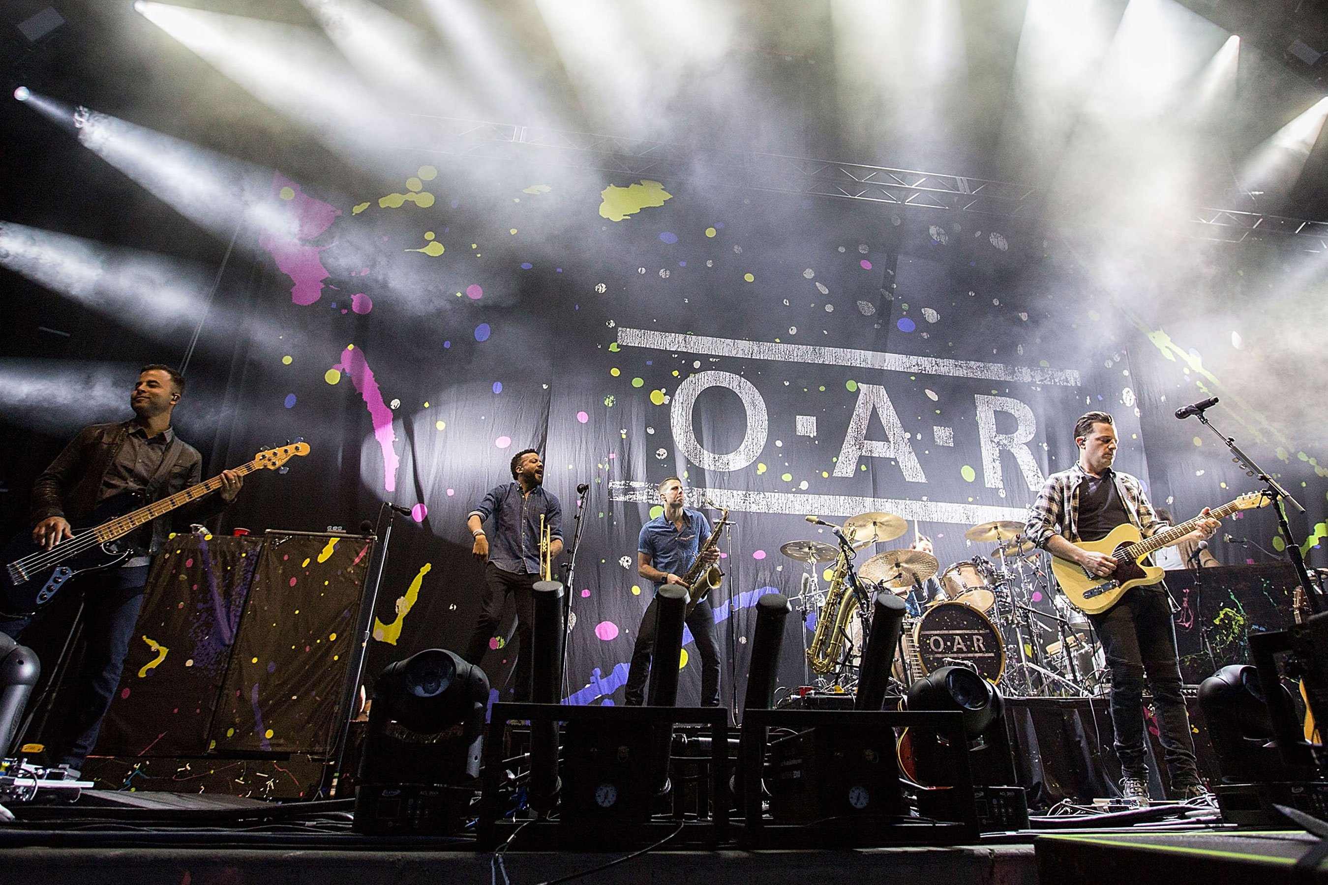 O.A.R. the band on OAR the Olympic Athletes Russian