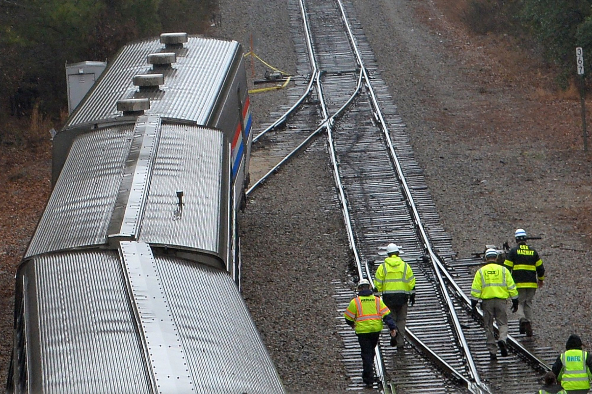 Feds investigating why Amtrak switch was set in wrong position