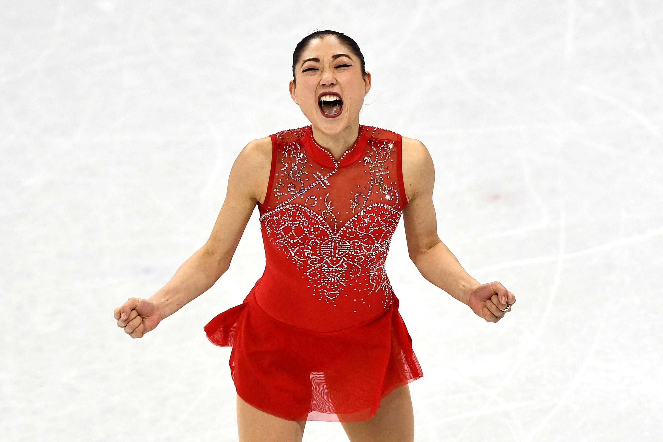 Olympics: Mirai Nagasu's triple axel celebrated by celebs, skaters