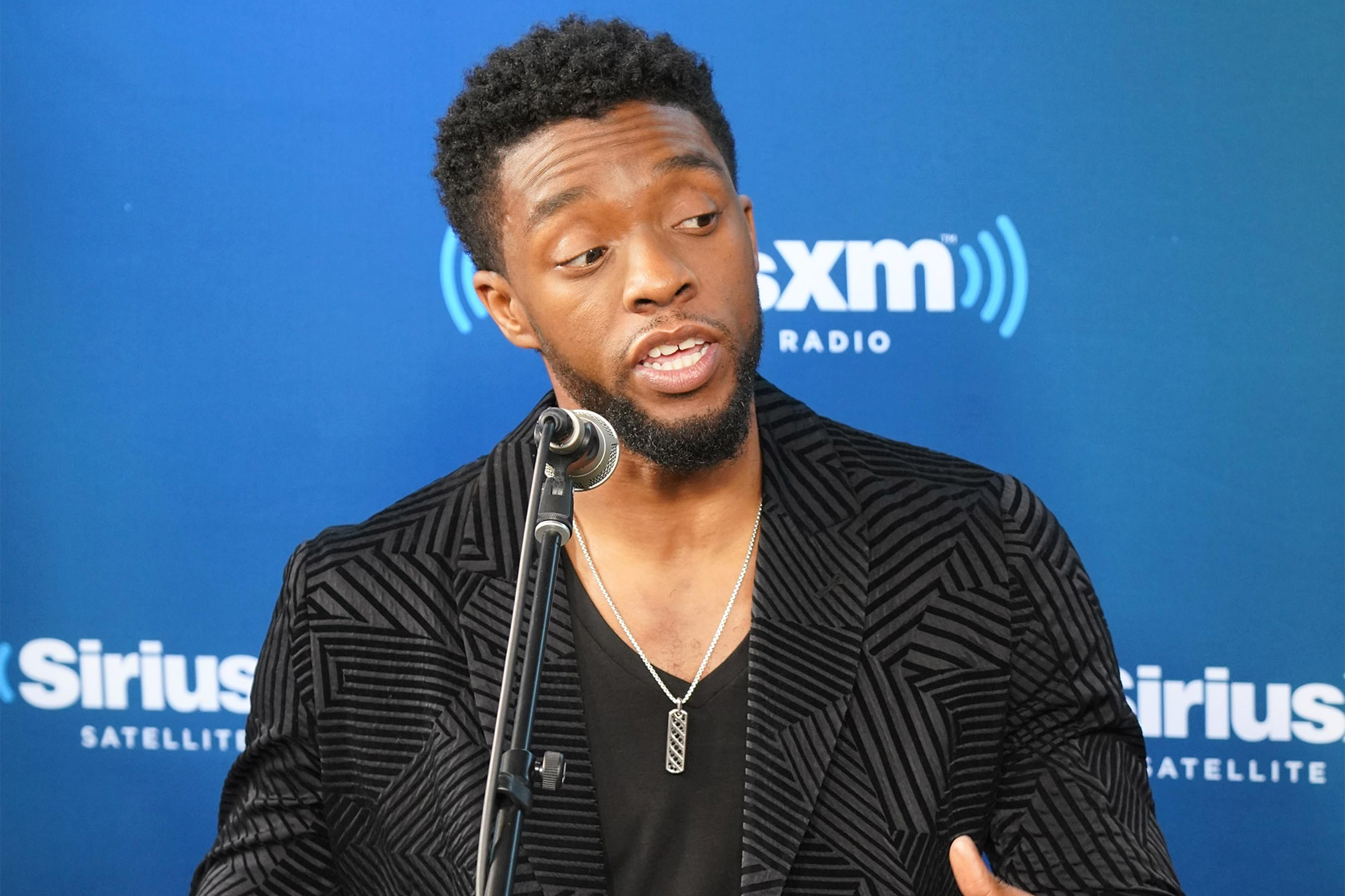 Black Panther: Chadwick Boseman gets emotional discussing film's impact