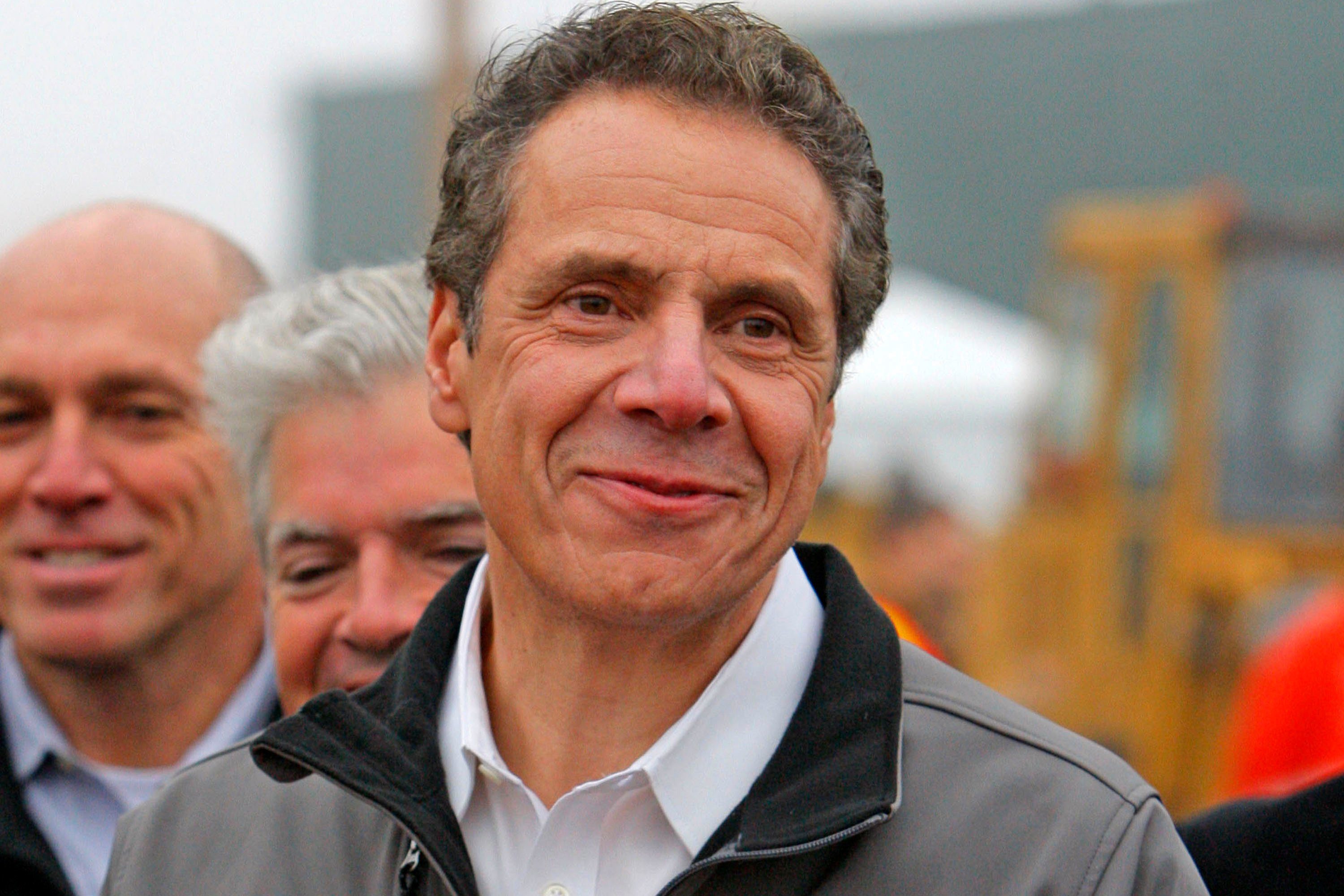 NY's biggest union backs Cuomo's re-election campaign