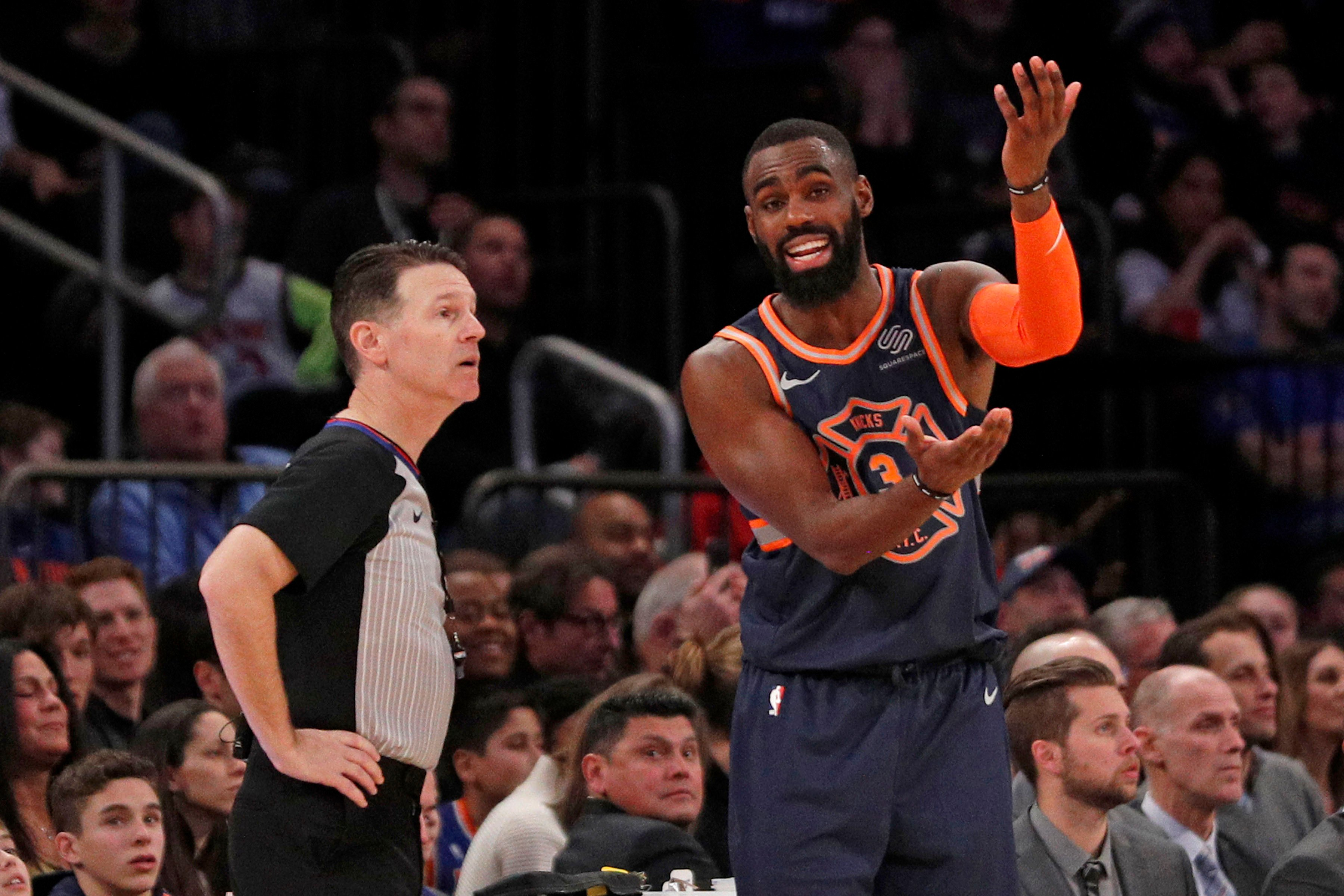 Refs scrubbed a play from history in bizarre Knicks shafting