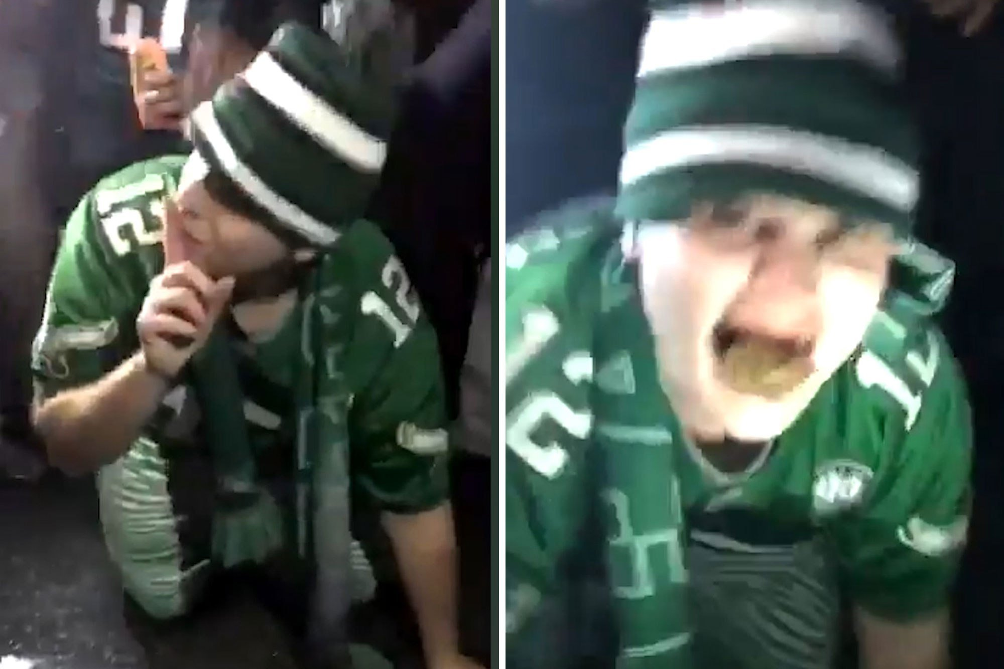 Eagles fan stoops to new low, even for Philly