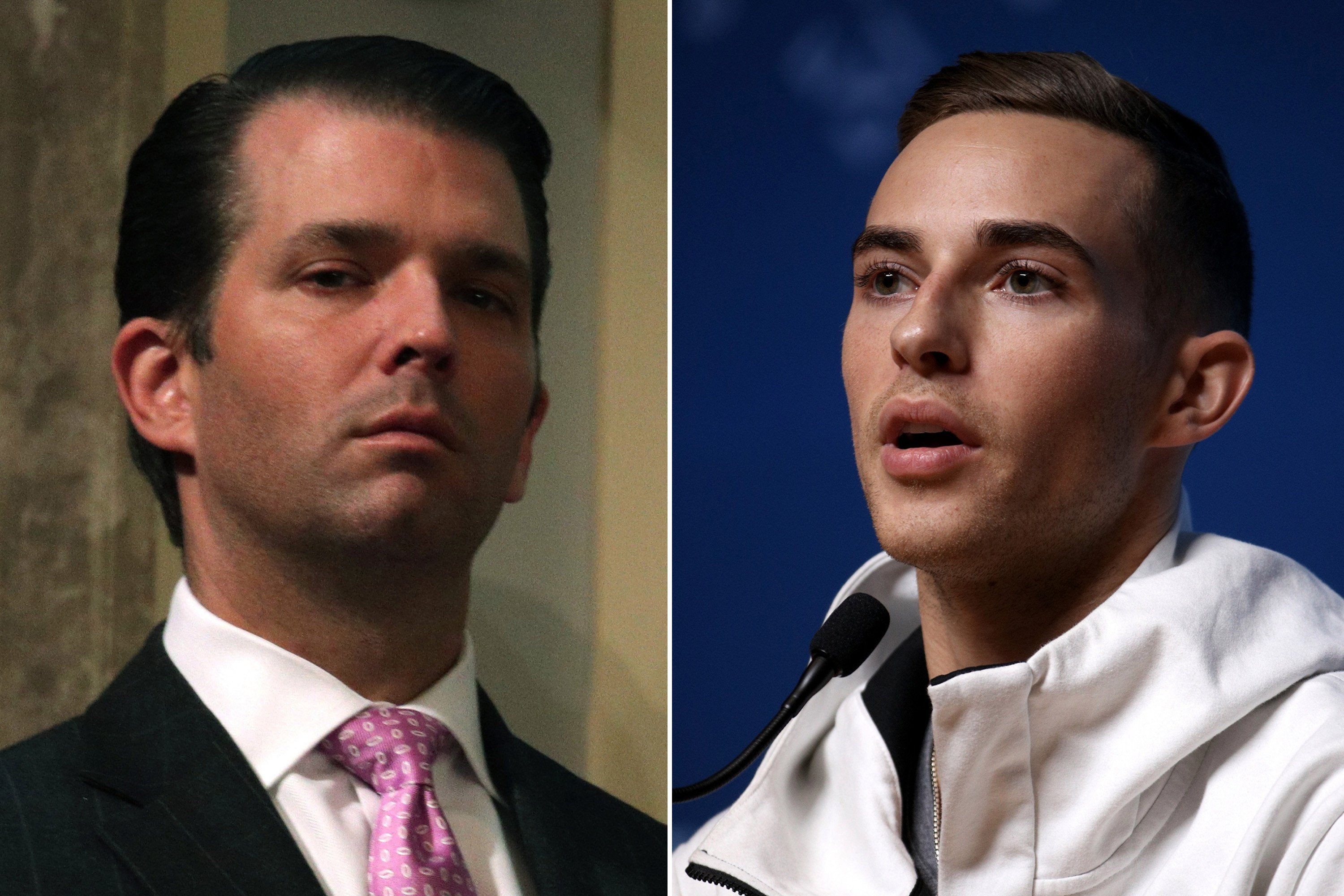 Trump Jr. slams Olympic medalist Adam Rippon
