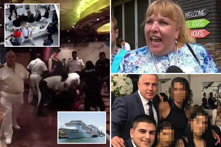 What REALLY happened during 'three days of terror sparked by a single family' on board Aussie cruise ship before it all climaxed in a shocking mass brawl