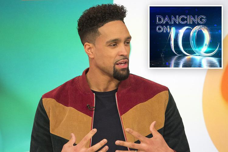 Dancing On Ice's Ashley Banjo reveals there are several steamy romances going on backstage as the stars can't keep their hands off each other