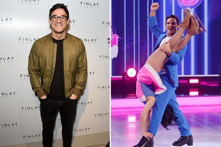 Dancing On Ice's Max Evans reveals skating partner is 'mad' to trust him with their daring routines