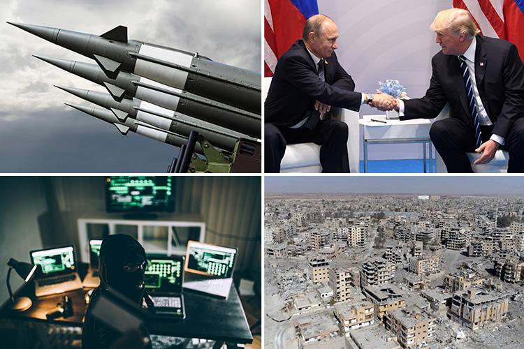 Most dangerous threats to the world in 2018 revealed… and it's not just nukes and terror