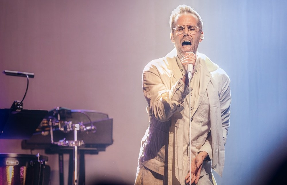 Songwriter Justin Tranter Performs Hits, Talks Female Artists at YouTube Music Night