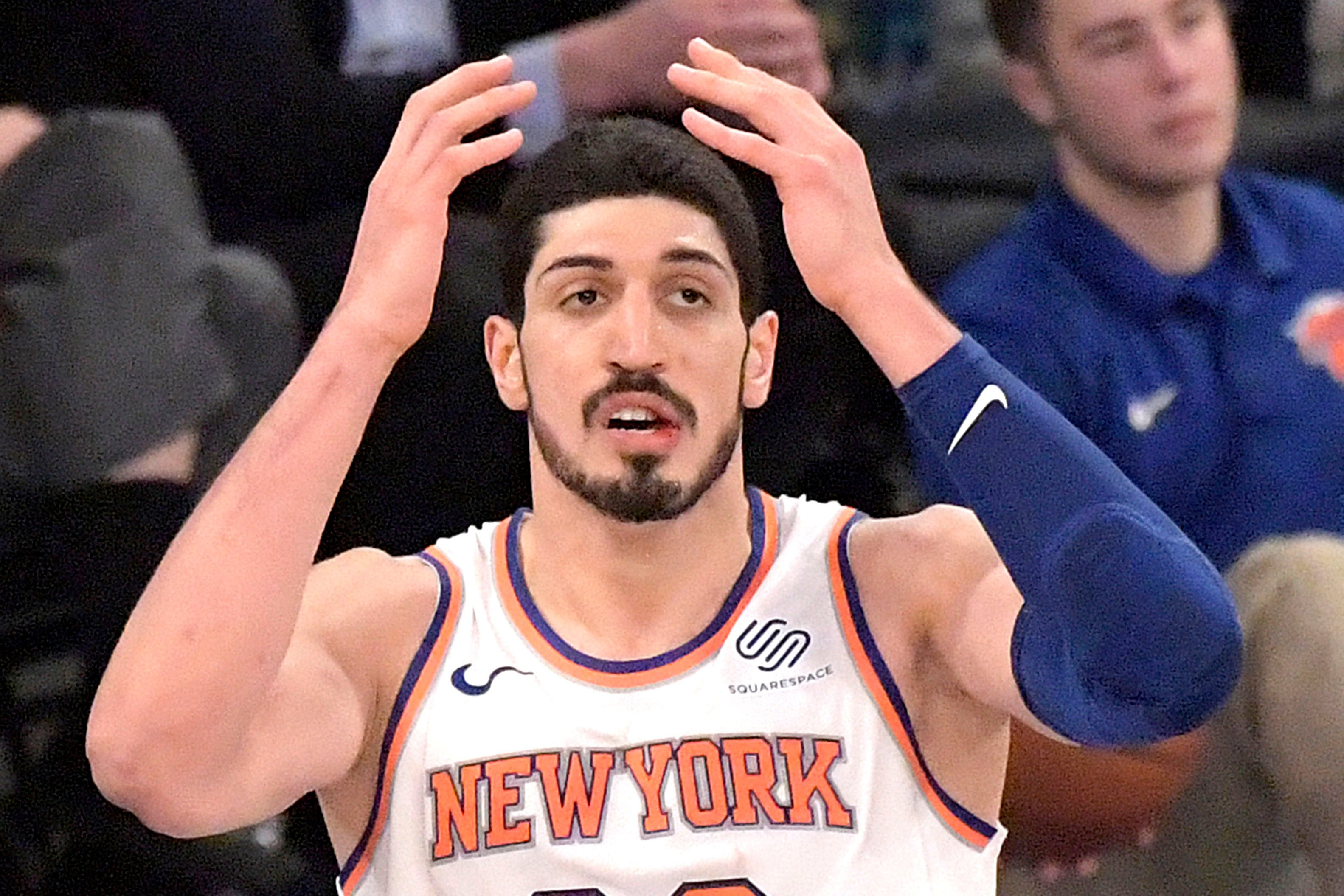 Even Enes Kanter realizes the Knicks' reality now