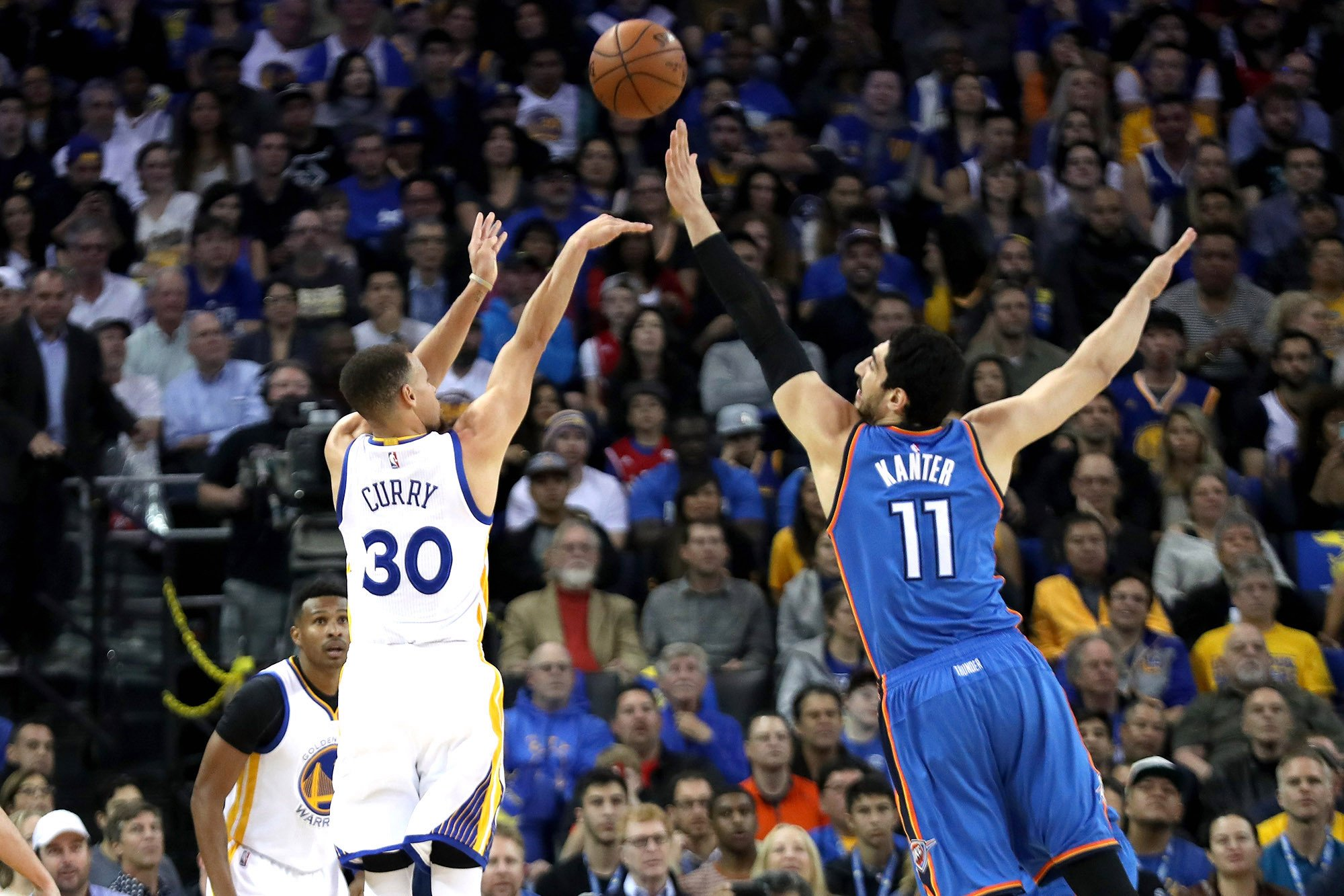 Enes Kanter hates thinking about chance to dethrone Warriors