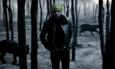 Kendrick Lamar Walks Around Forest With Black Panthers in 'All the Stars' Video Ft. SZA