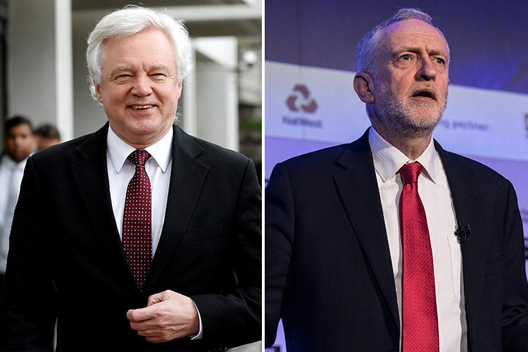 Brexit Secretary accuses Jeremy Corbyn of selling 'snake oil' to voters and ripping up Labour's manifesto with plan to keep Britain in form of EU customs union