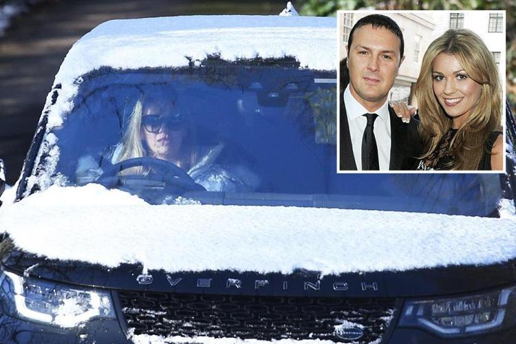 Paddy McGuinness's wife Christine seen for the first time since he was pictured arm-in-arm with Nicole Appleton on a night out in London