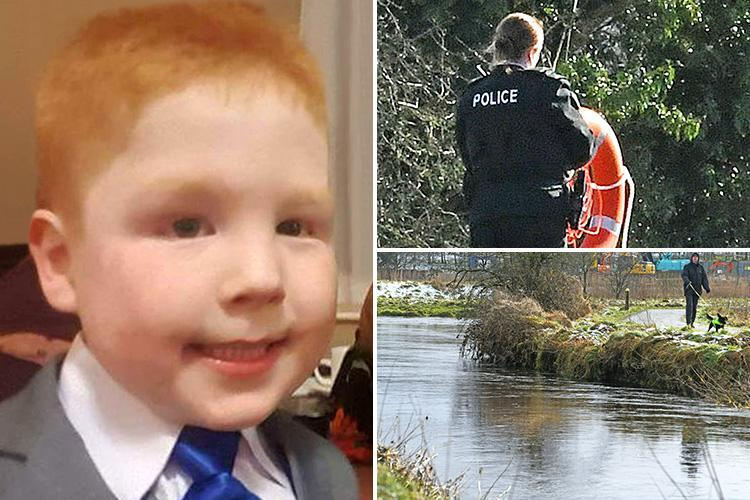 First picture of tragic Ballymena schoolboy Kayden McGowan, five, swept to his death in river as family pay heartbreaking tribute