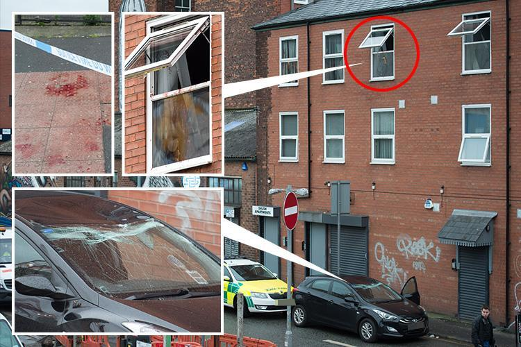 Woman found dead in Manchester flat after 'man covered in blood jumped out of window and attacked people in the street'