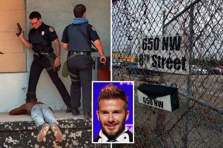 Inside the heroin and gun-crime ravaged Miami ghetto where David Beckham is building his new MLS club's stadium