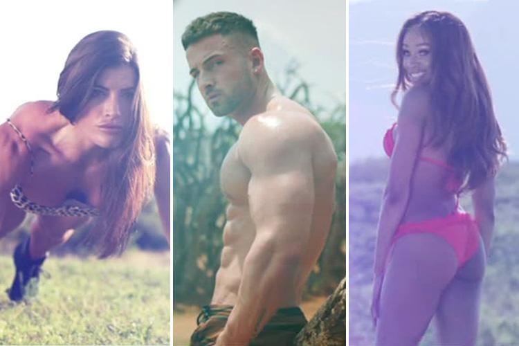Survival of the Fittest viewers amazed by the contestants' incredibly buff bodies as they arrive at the lodge