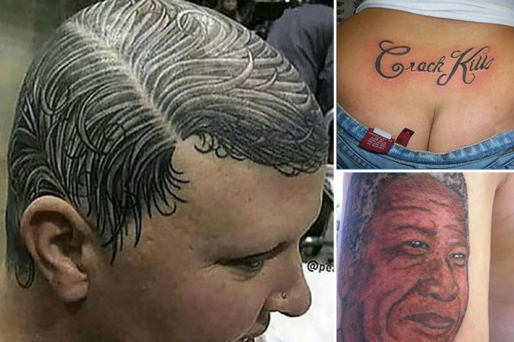 Amazing pics reveal some of the worst and funniest tattoos that people thought were a great idea at the time
