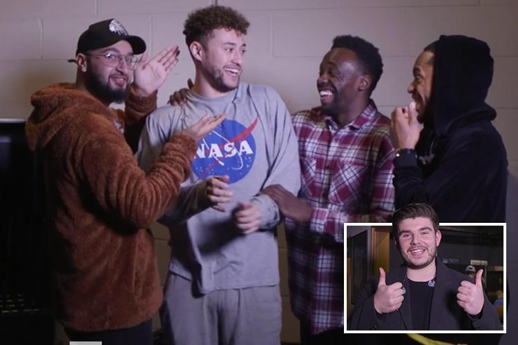 Lloyd Macey reveals he was a Valentine's Day 'stalker' and Rak-Su beg for a girlfriend for hunky Myles in X Factor stars' most embarrassing love confessions