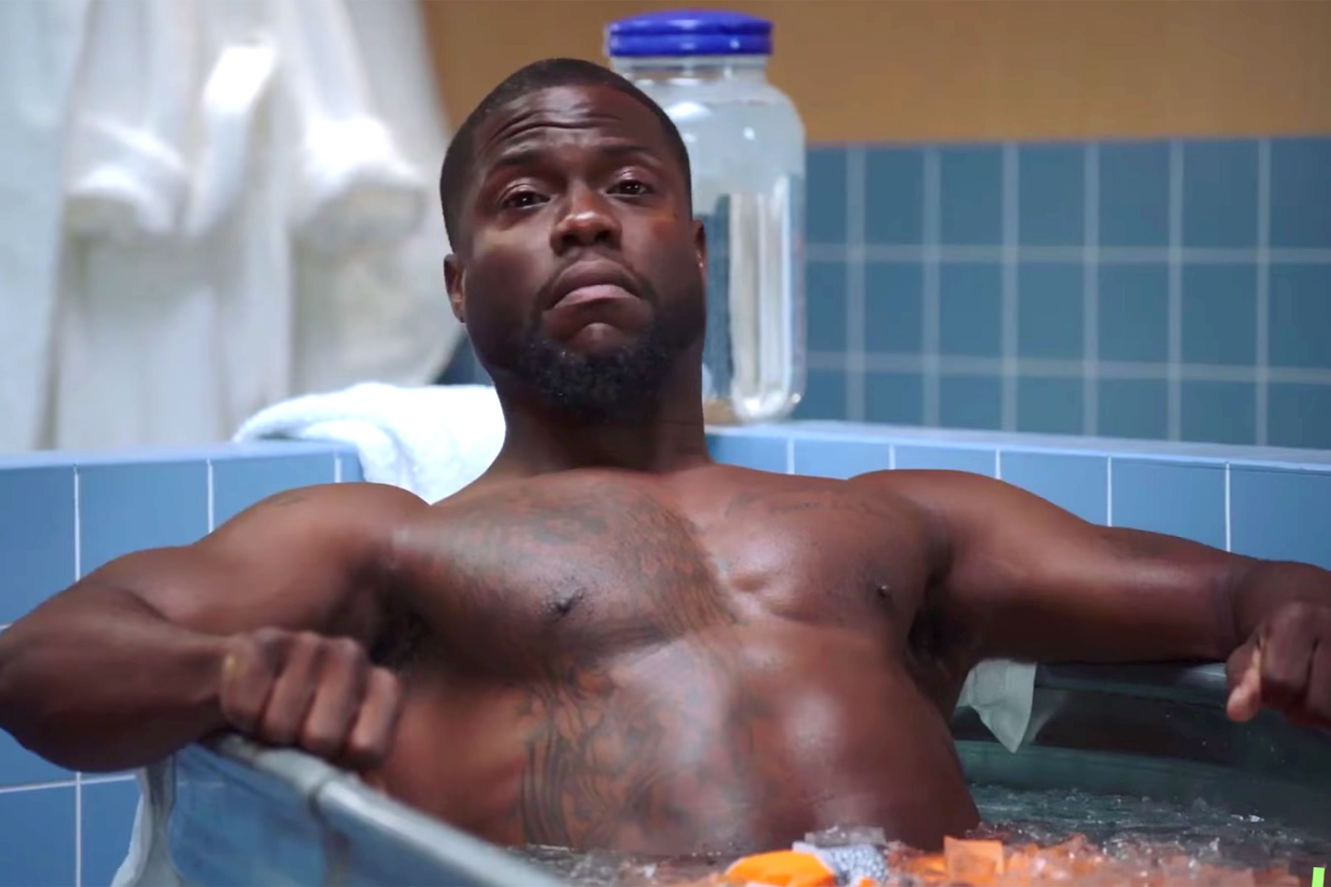 Kevin Hart gets Cold as Balls for his new interview series