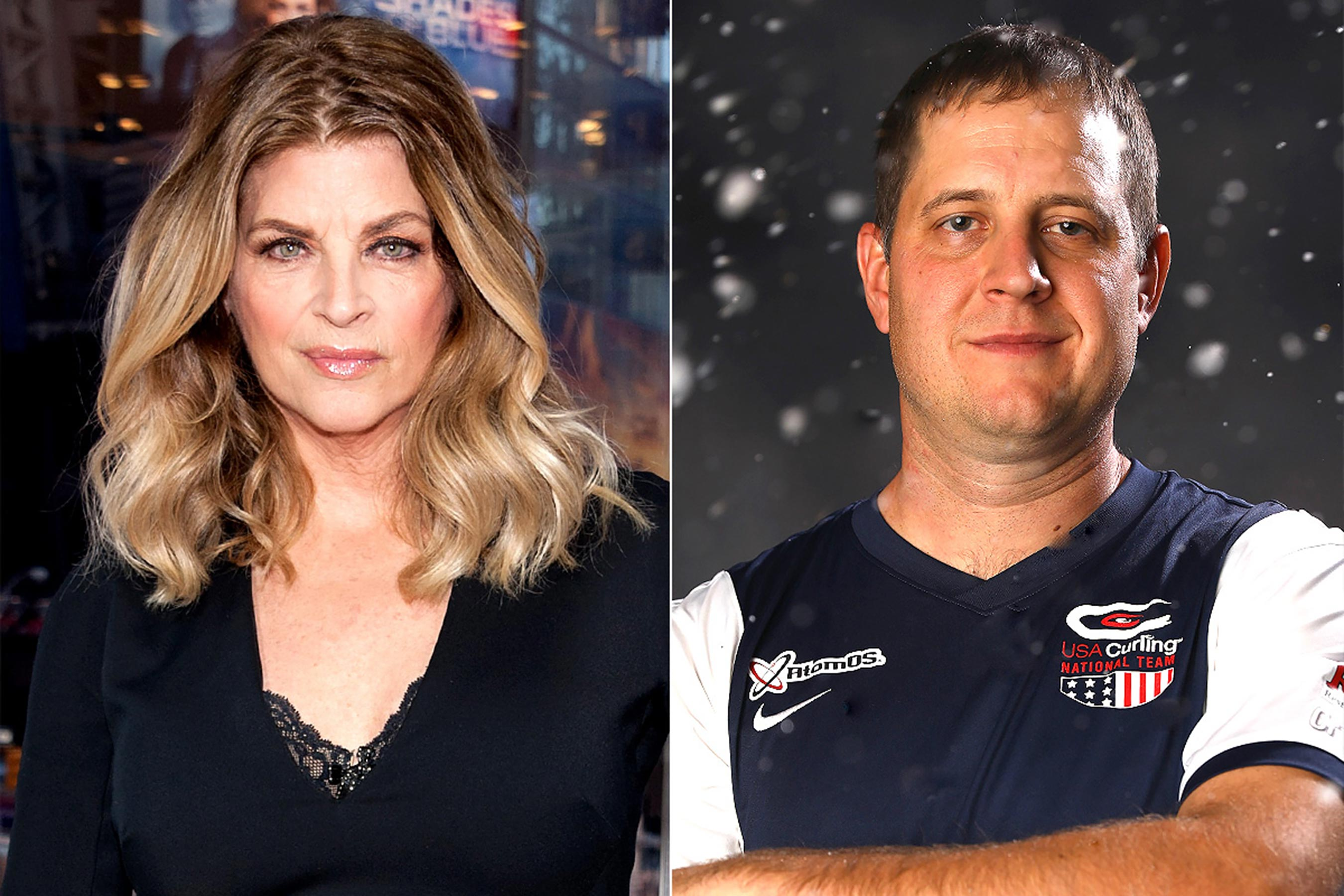 Olympic curlers slam Kirstie Alley after she calls sport boring