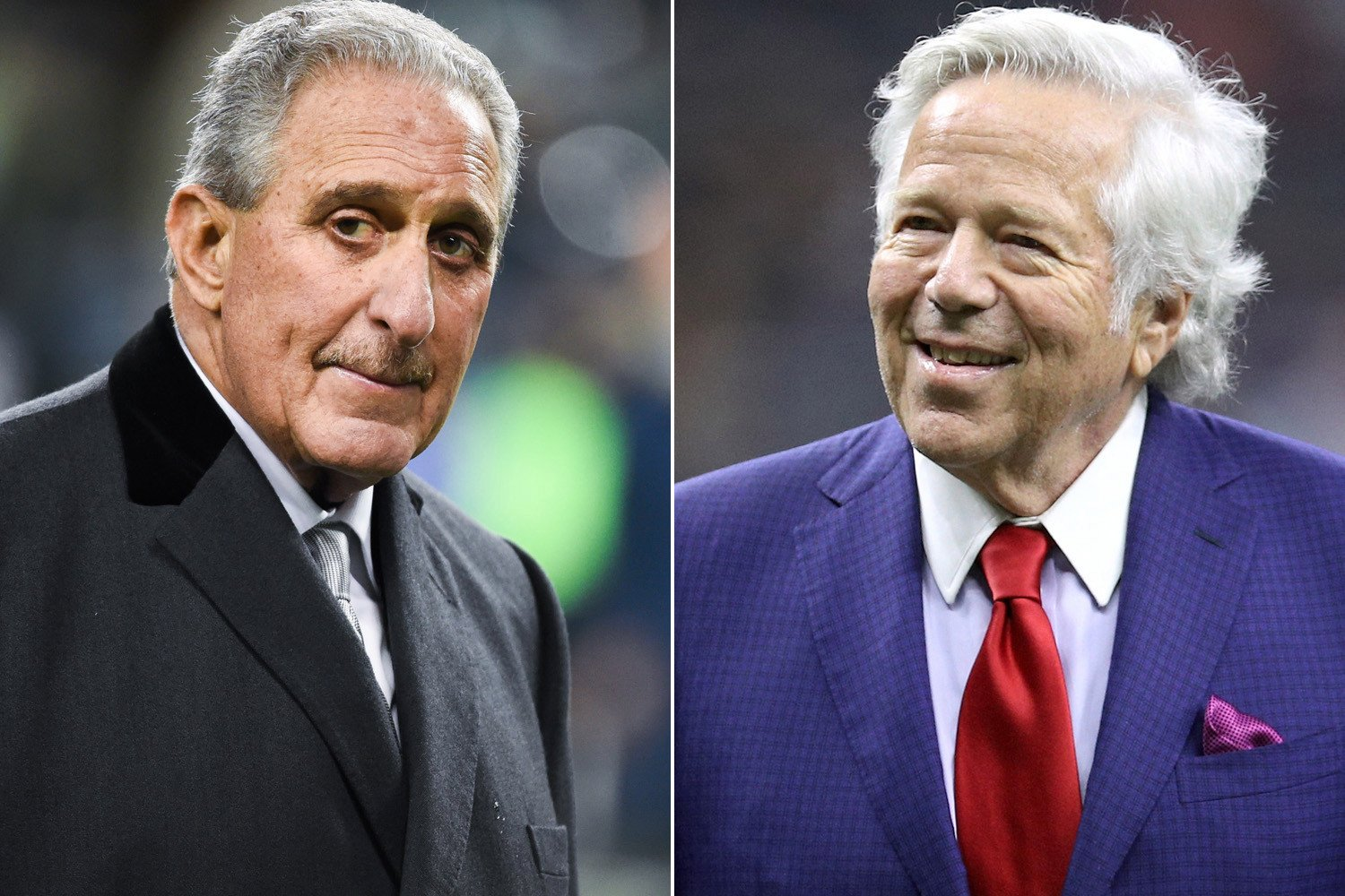 "How Robert Kraft ""pissed off' Falcons owner with Super Bowl ring"